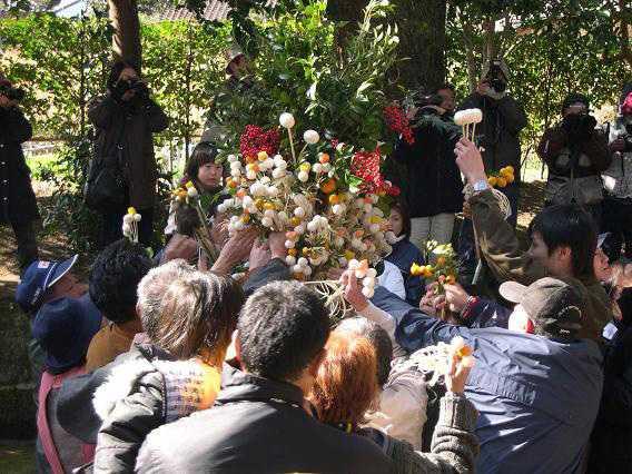 田之浦山宮神社のダゴ祭り