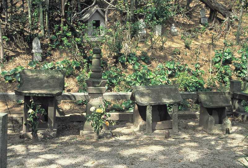 清鏡寺(清水宗治の供養塔)