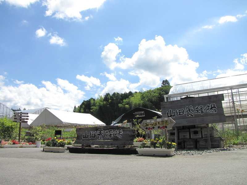 山田養蜂場みつばち農園