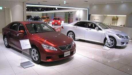 トヨタ自動車ショールームの画像 2007年オープンのショールーム2007年名古屋駅前ミッドランド