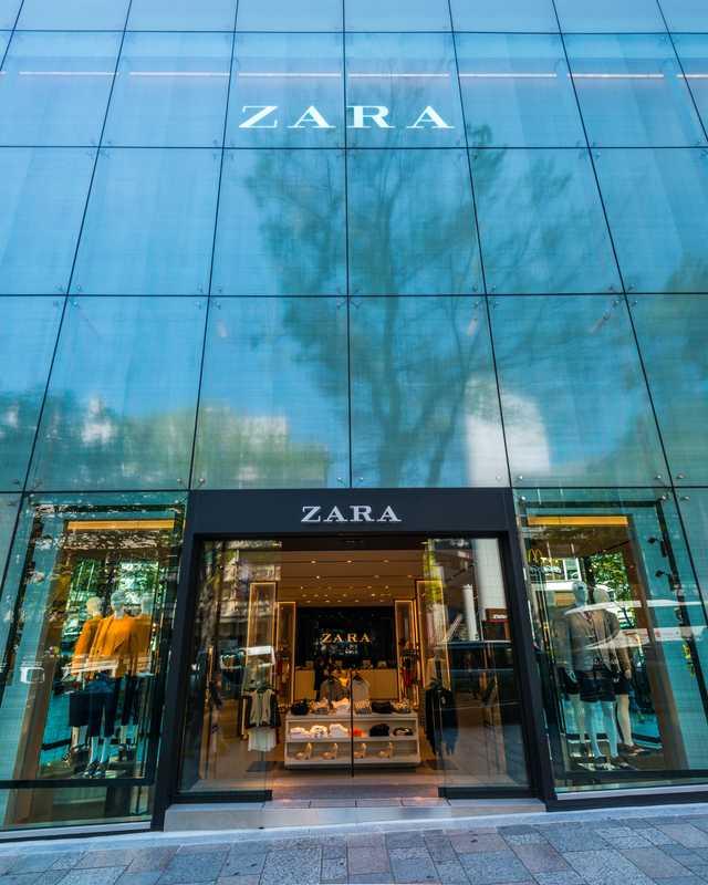 ZARA原宿店