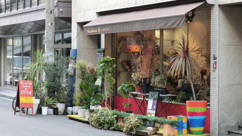 FlOWER CAFE baobab 北堀江