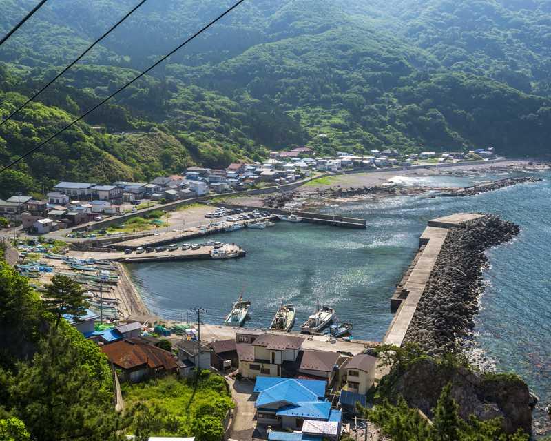 加茂青砂漁港