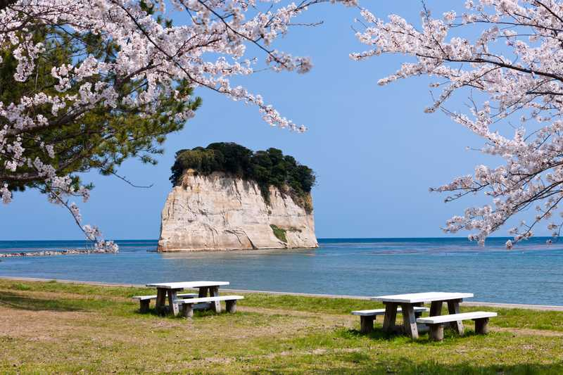 見附島の画像