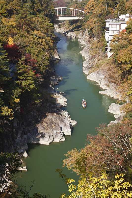 天龍峡(天竜川下り)