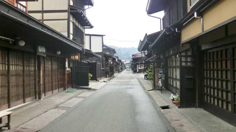 高山の古い町並