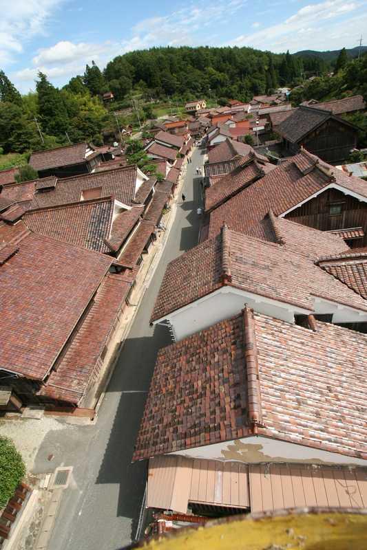 高梁市吹屋伝統的建造物群保存地区