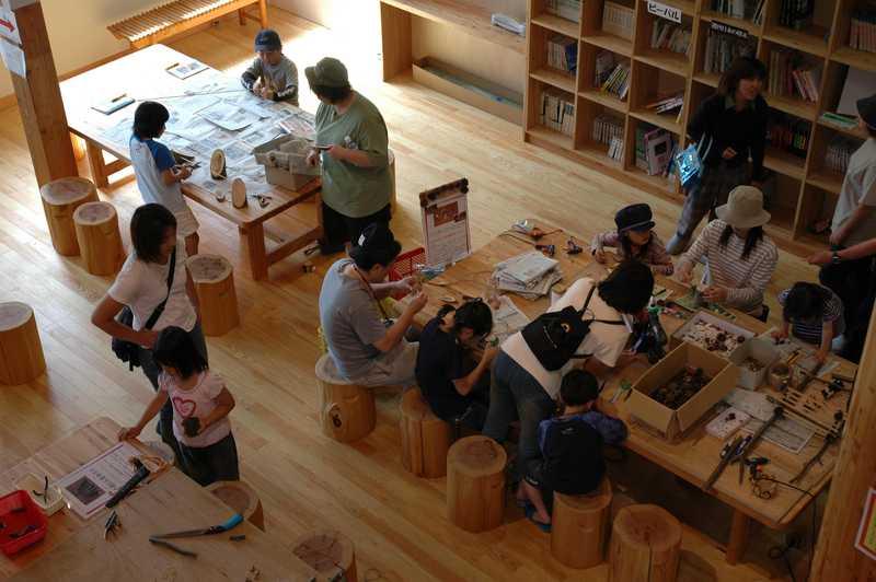 県民の森木材工芸センター