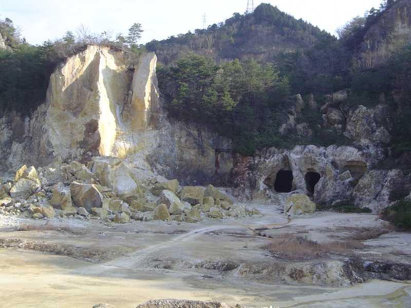 李参平と泉山磁石場