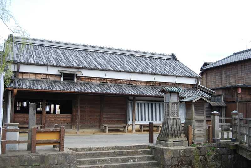 小野川沿いの歴史的町並み(重要伝統的建造物群保存地区)