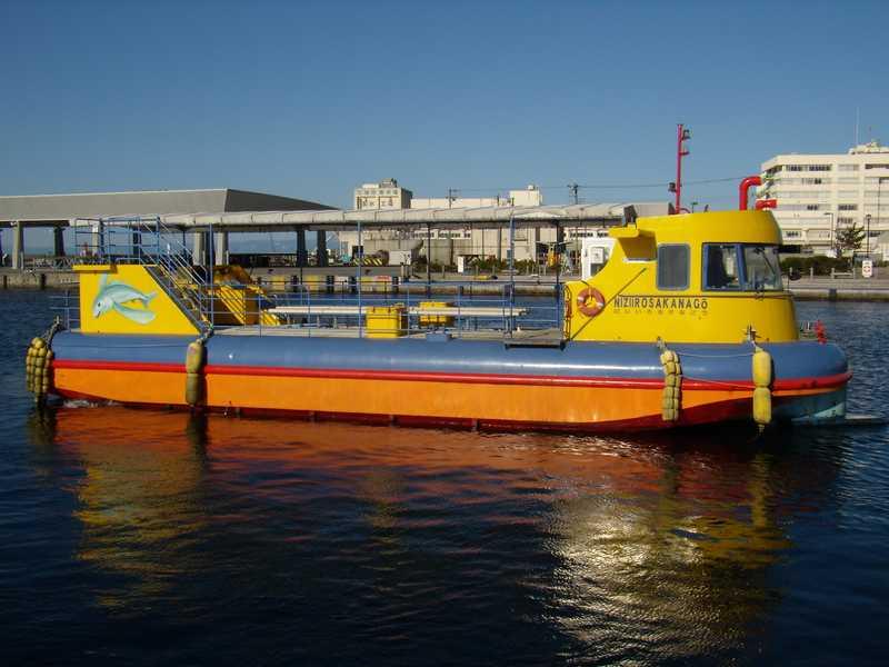 水中観光船(にじいろさかな号)