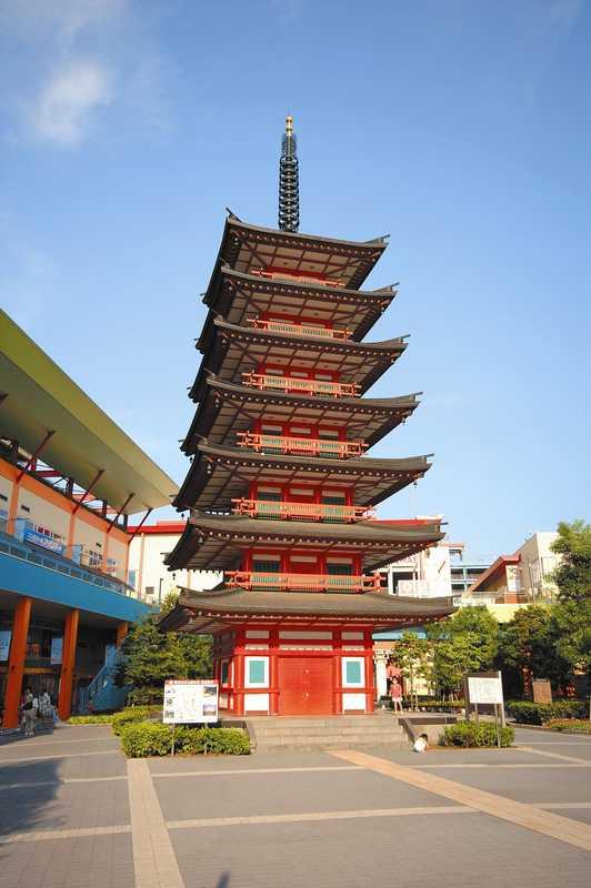 七重の塔の画像