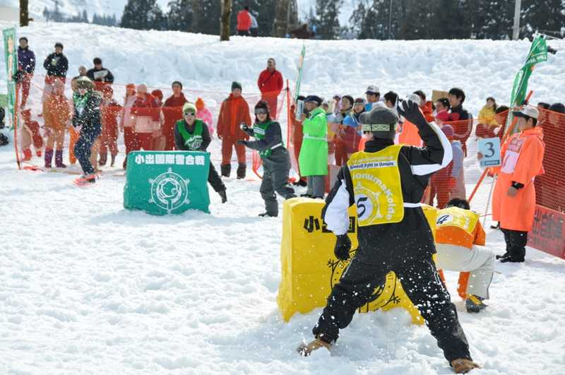 第25回小出国際雪合戦大会