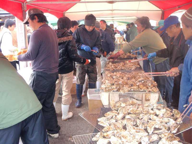 久美浜カキ・魚まつり
