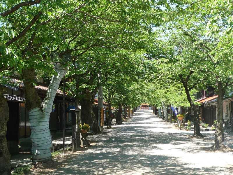 新庄村町並み保存地区