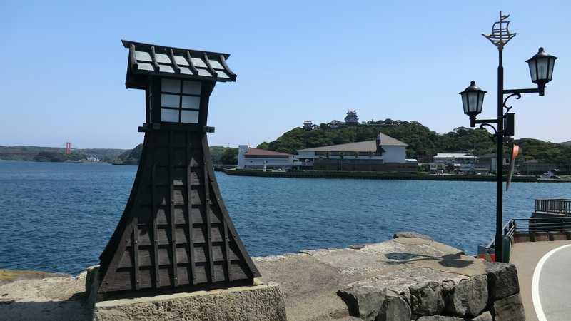 平戸港の常燈の鼻