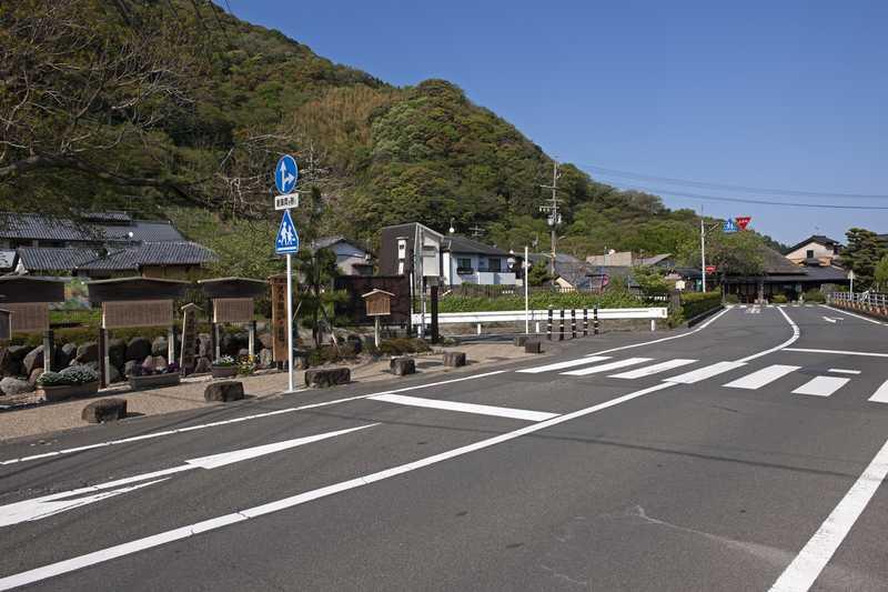 東海道 丸子宿