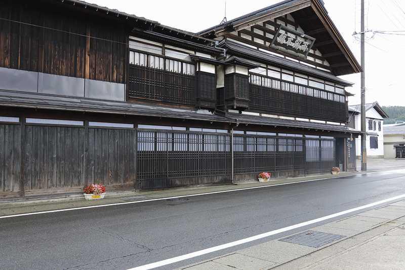 羽州街道湯沢