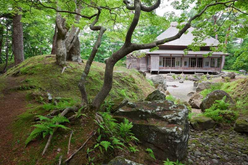 旧岩船氏庭園(香雪園)