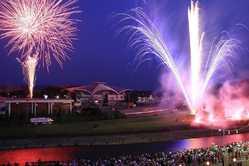 真岡市夏祭り大花火大会の画像