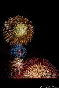 富津市民花火大会の画像