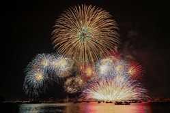 広島みなと夢花火大会の画像