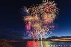 海洋博公園花火大会の画像