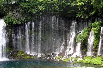 白糸の滝・音止の滝