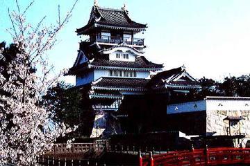 吉田町展望台小山城