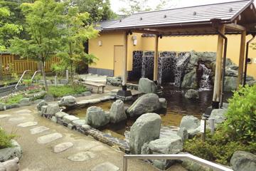 天然療養泉とうえい温泉