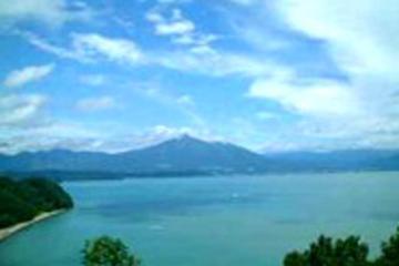 猪苗代湖の画像