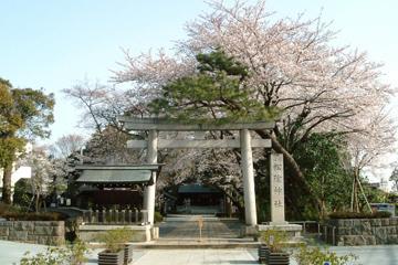 松陰神社の画像