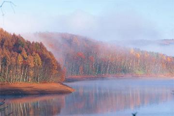 岩洞湖(ワカサギ釣り)