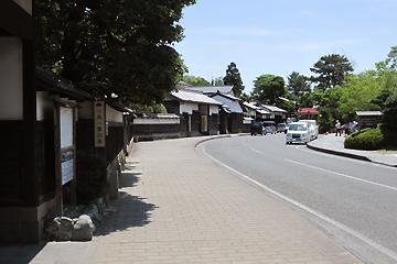 松江の城下町(塩見縄手地域)