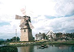 道の駅 しんあさひ風車村 (2018年4月まで改装中)