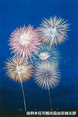 日本海洋上花火大会の画像