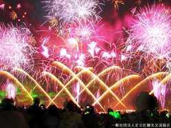 足立の花火の画像