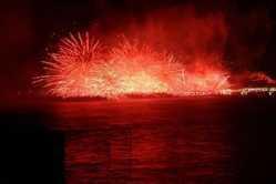 浜坂ふるさと夏まつり花火大会の画像