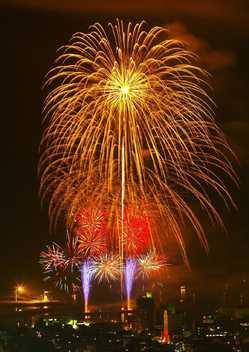 天神祭花火大会の画像
