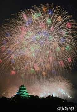 九州花火大会の画像