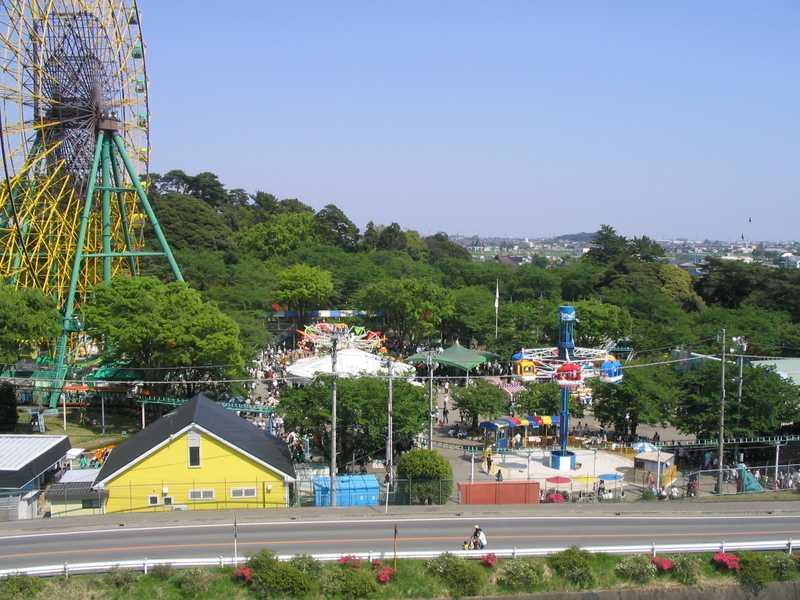 華蔵寺公園遊園地の画像