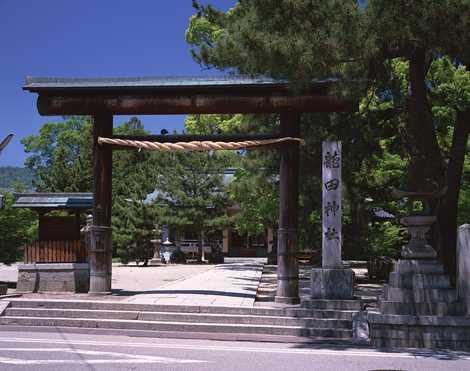 龍田神社の画像