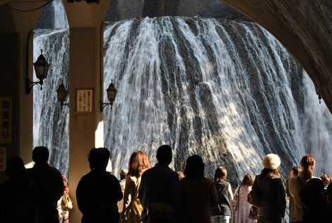袋田の滝の画像
