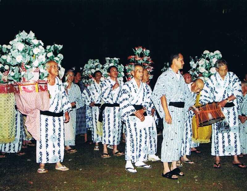 久多花笠踊りの画像