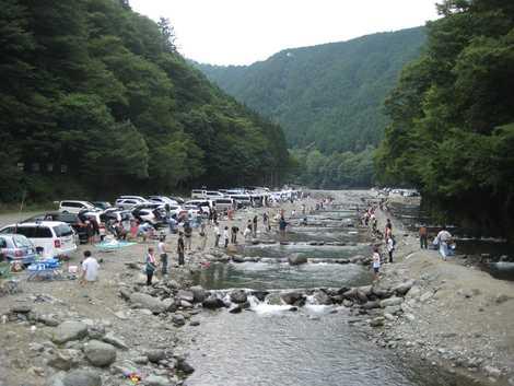 早戸川国際マス釣場の画像