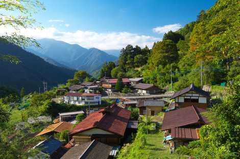 早川町赤沢の画像
