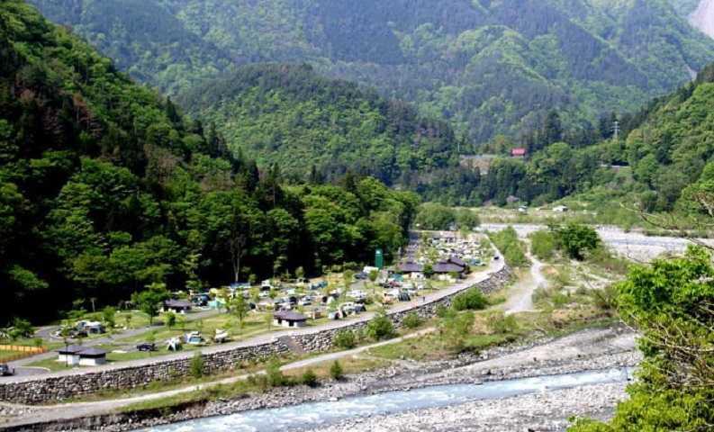 早川町オートキャンプ場の画像