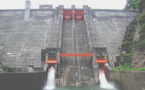 早出川ダムの画像
