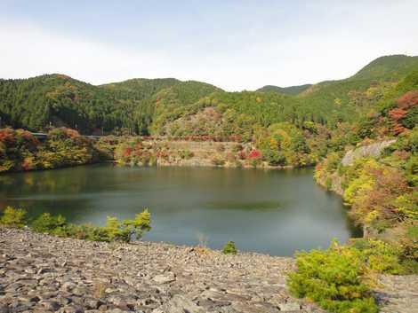 箕面川ダムの画像