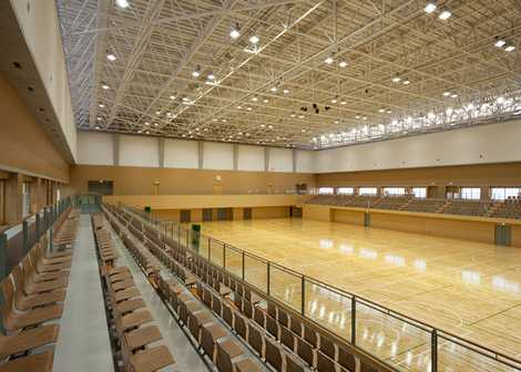 防府市体育館 ソルトアリーナ防府の画像